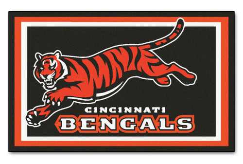 Cincinnati Bengals Area Rug - 4'x6' - Special Order
