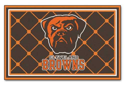 Cleveland Browns Area Rug - 4'x6' - Special Order