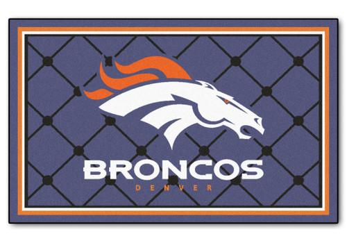 Denver Broncos Area Rug - 4'x6' - Special Order