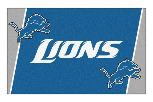 Detroit Lions Area Rug - 5'x8' - Special Order