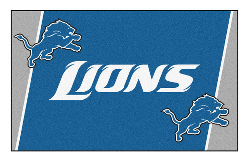 Detroit Lions Area Rug - 4'x6' - Special Order