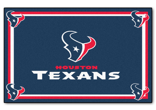 Houston Texans Area Rug - 4'x6' - Special Order