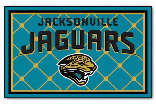Jacksonville Jaguars Area Rug - 4'x6' - Special Order