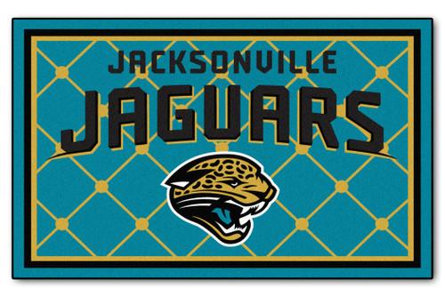 Jacksonville Jaguars Area Rug - 5'x8' - Special Order