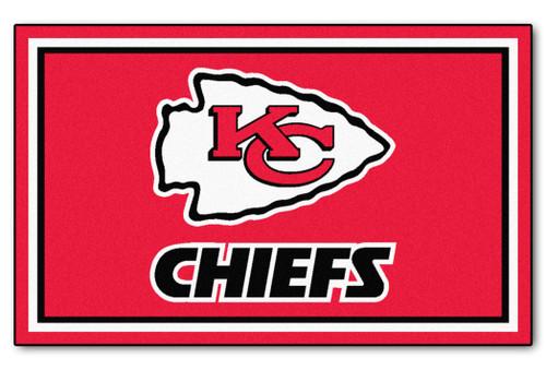 Kansas City Chiefs Area Rug - 4'x6' - Special Order