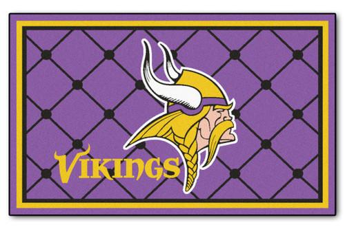 Minnesota Vikings Area Rug - 4'x6' - Special Order