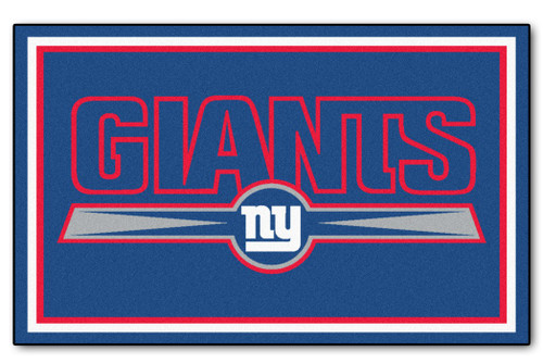 New York Giants Area Rug - 4'x6' - Special Order