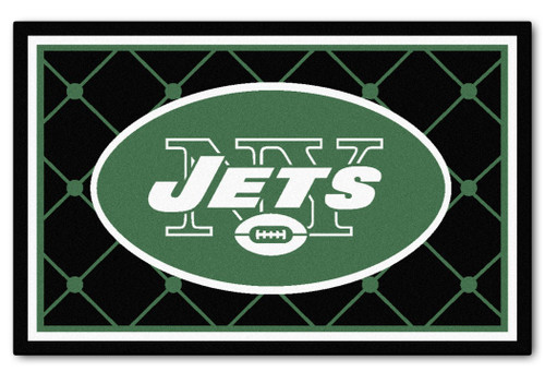 New York Jets Area Rug - 4'x6' - Special Order