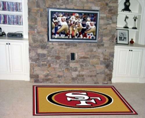 San Francisco 49ers Area Rug - 5'x8' - Special Order