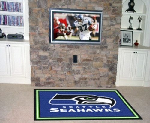 Seattle Seahawks Area Rug - 5'x8' - Special Order