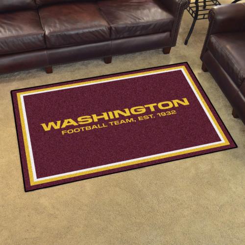 Washington Football Team Area Rug - 4'x6' - Special Order