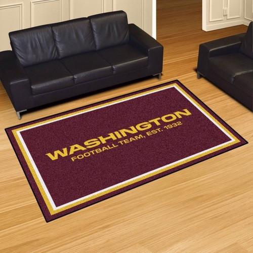 Washington Football Team Area Rug - 5'x8' - Special Order