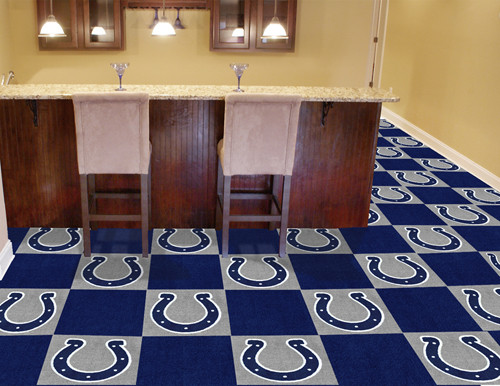 Indianapolis Colts Carpet Tiles - Special Order
