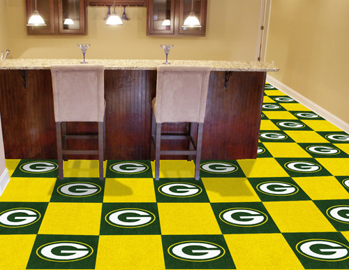 Green Bay Packers Carpet Tiles - Special Order