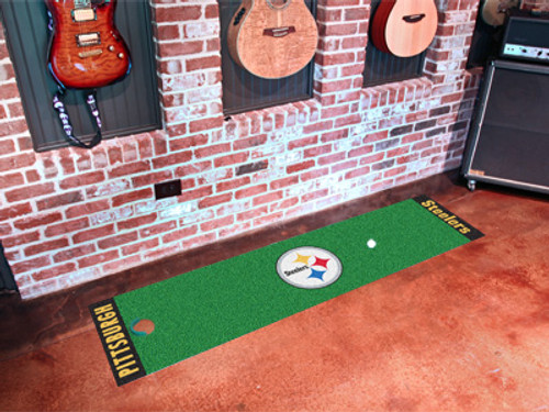 Pittsburgh Steelers Putting Green Mat - Special Order