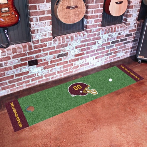 Washington Football Team Putting Green Mat - Special Order