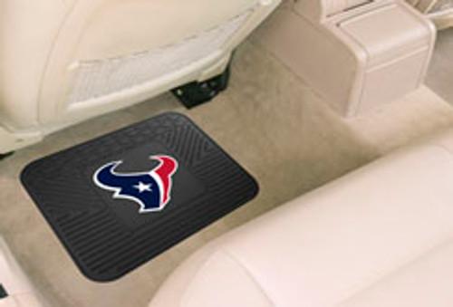 Houston Texans Car Mat Heavy Duty Vinyl Rear Seat