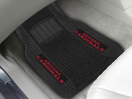 Arizona Cardinals Car Mats - Deluxe Set - Special Order