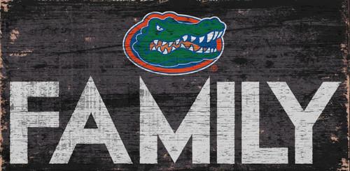 Florida Gators Sign Wood 12x6 Family Design - Special Order