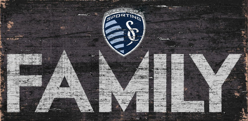 Sporting Kansas City Sign Wood 12x6 Family Design - Special Order