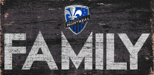 Montreal Impact Sign Wood 12x6 Family Design - Special Order