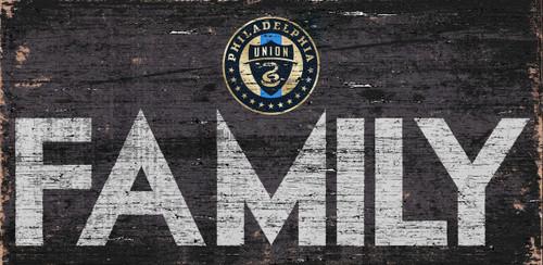 Philadelphia Union Sign Wood 12x6 Family Design - Special Order