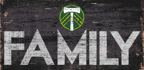 Portland Timbers Sign Wood 12x6 Family Design - Special Order