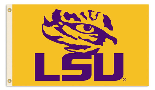 LSU Tigers Flag 3x5 Tiger Eye - Special Order
