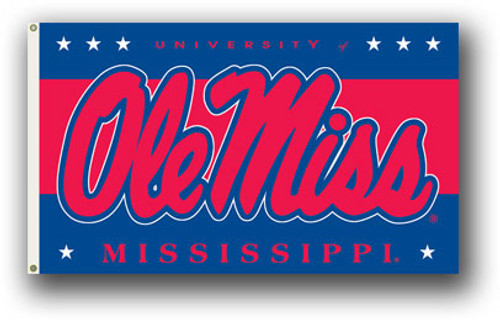 Mississippi Rebels Flag 3x5 - Special Order