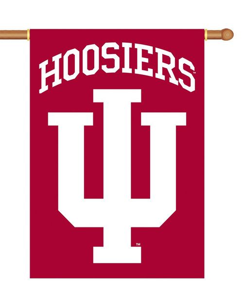 Indiana Hoosiers Banner 28x40 2 Sided - Special Order