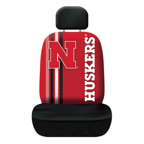 Nebraska Cornhuskers Seat Cover Rally Design