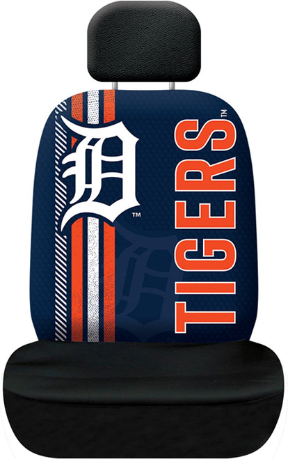 Detroit Tigers Seat Cover Rally Design CO