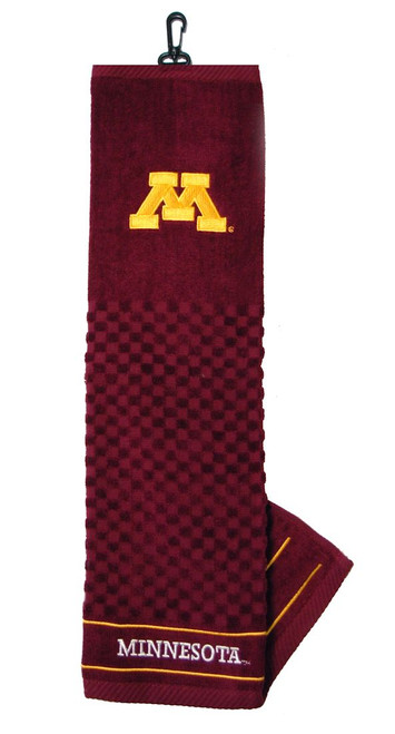 "Minnesota Golden Gophers 16""x22"" Embroidered Golf Towel - Special Order"