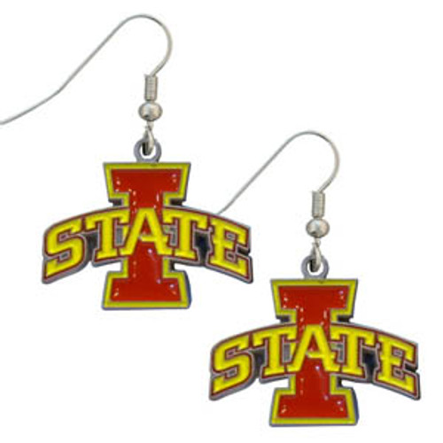 Iowa State Cyclones Dangle Earrings - Special Order