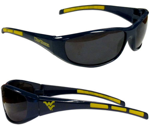 West Virginia Mountaineers Sunglasses - Wrap - Special Order