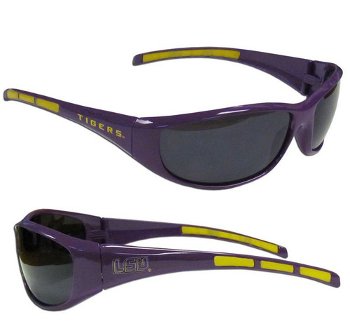 LSU Tigers Sunglasses - Wrap - Special Order
