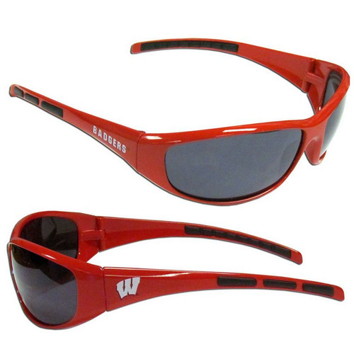 Wisconsin Badgers Sunglasses - Wrap - Special Order