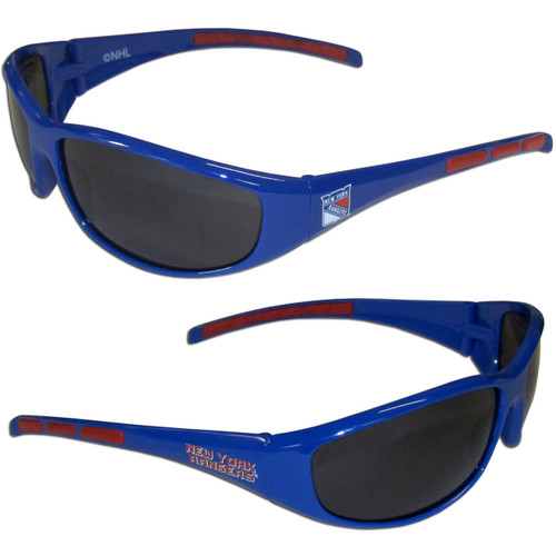 New York Rangers Sunglasses - Wrap - Special Order
