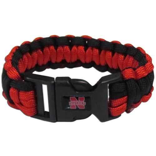 Nebraska Cornhuskers Survival Bracelet - Special Order