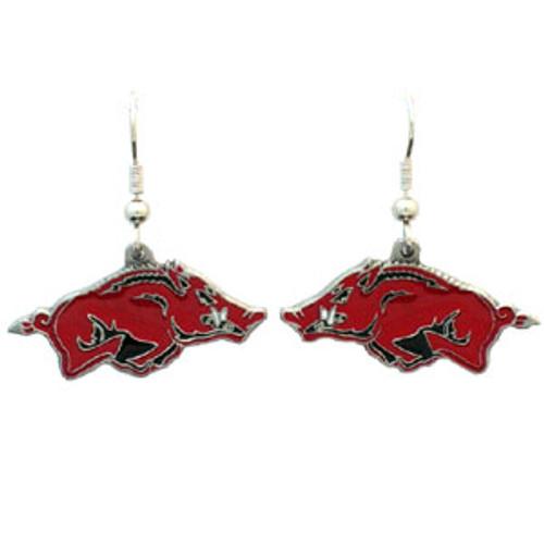Arkansas Razorbacks Dangle Earrings - Special Order