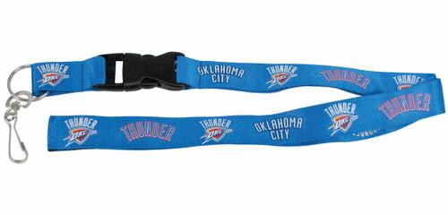 Oklahoma City Thunder Lanyard - Breakaway with Key Ring - Special Order