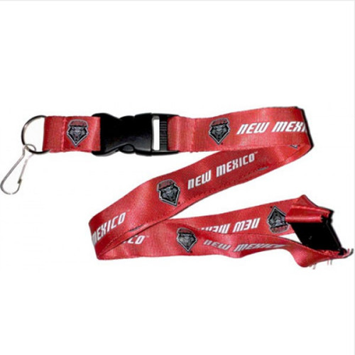 New Mexico Lobos Lanyard - Red - Special Order