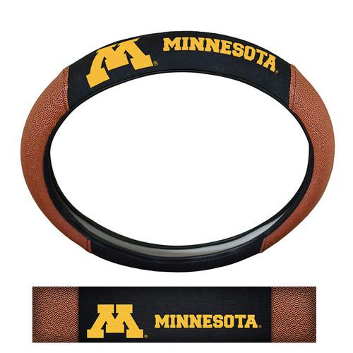 Minnesota Golden Gophers Steering Wheel Cover - Premium Pigskin - Special Order