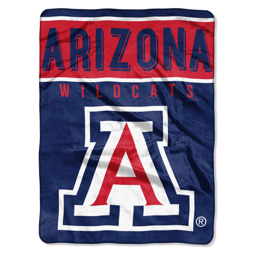 Arizona Wildcats Blanket 60x80 Raschel Basic Design - Special Order