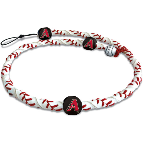Arizona Diamondbacks Necklace Frozen Rope Classic Baseball A Logo
