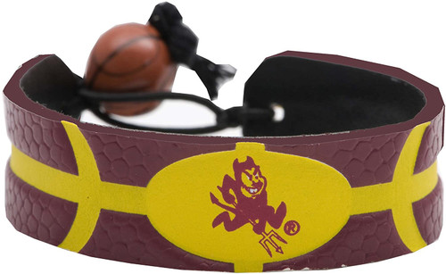 Arizona State Sun Devils Bracelet Team Color Basketball
