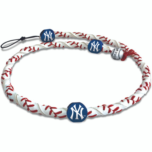 New York Yankees Necklace Frozen Rope Baseball CO