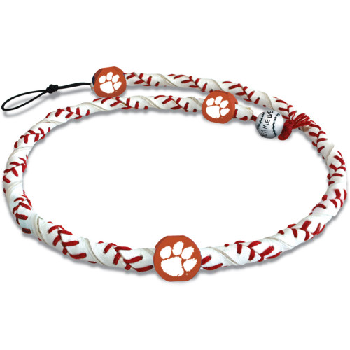 Clemson Tigers Necklace Frozen Rope Classic Baseball