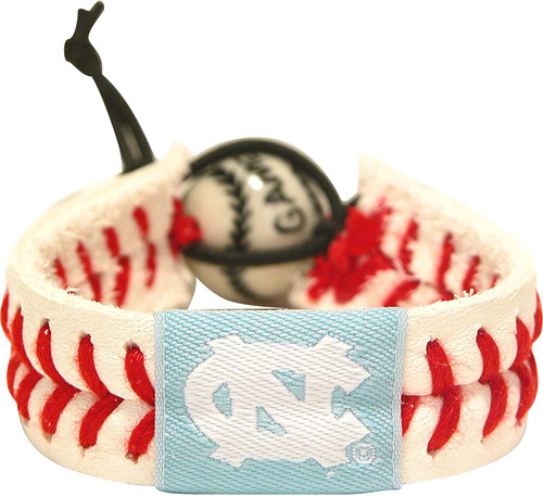 North Carolina Tar Heels Bracelet Classic Baseball