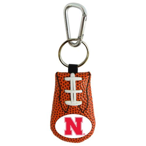 Nebraska Cornhuskers Keychain Classic Football